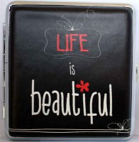 Love and Life Zigaretten Etui 20er Life is beautiful