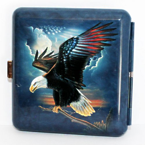Wild and Free Zigaretten Etui 20er USA Eagle