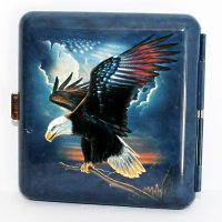 Wild and Free Zigaretten Etui 20er USA Eagle