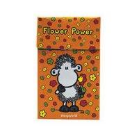 Zigaretten-Faltschachtel Flower Power Orange