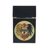 Zigaretten-Faltschachtel Germany Gelb