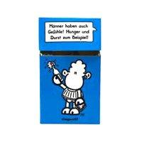 Zigaretten-Faltschachtel Worthelden Blau