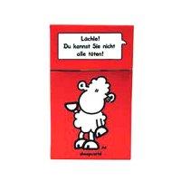 Zigaretten-Faltschachtel Worthelden Rot