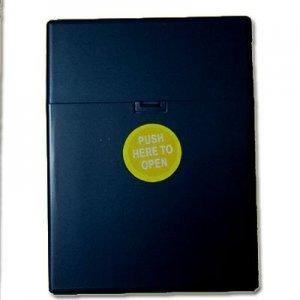 Zigarettenbox Kunststoff 30er Clic Boxx dunkelblau