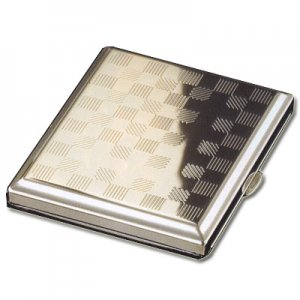 Zigarettenetui Metall Quadrate