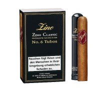 Zino Cigarren Classic No 6 Tubos 3er