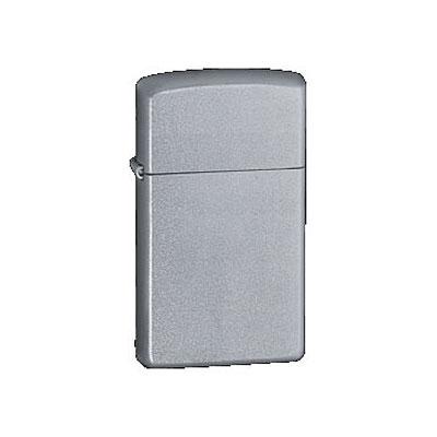 Zippo-Feuerzeug Chrom Satiniert Slim
