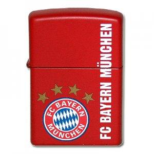 Zippo Feuerzeug FC Bayern Rot