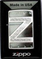 Zippo Feuerzeug Leather Metal Z