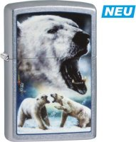 Zippo Feuerzeug Street Color Mazzi Polar Bear