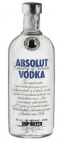 Absolut Vodka Blue 40 % Alkohol Glasflasche