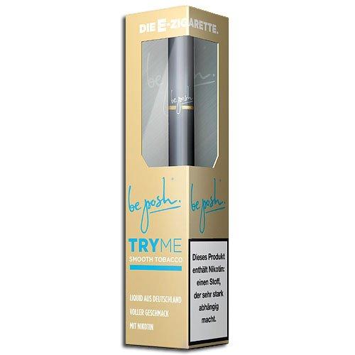 be posh E-Zigarette Try Me Smooth Tobacco 0,8 % (ARTIKEL WIRD NICHT MEHR HERGESTELLT)