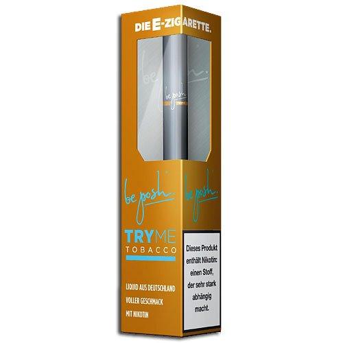 be posh E-Zigarette Try Me Tobacco 1,6 % Einweg (ARTIKEL WIRD NICHT MEHR HERGESTELLT)