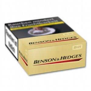 Benson & Hedges Gold L Box (10x21)