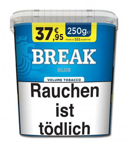 Break Tabak Blau 250g Eimer Volumentabak