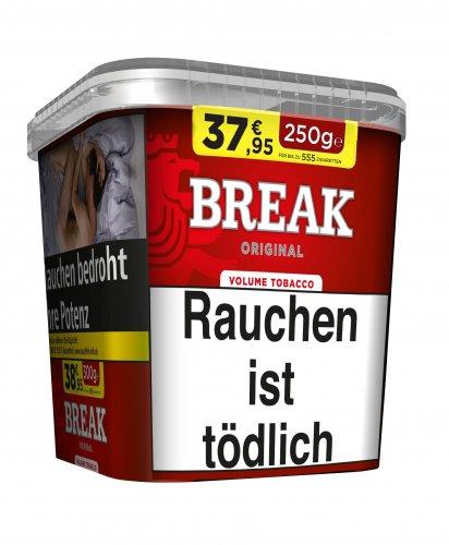 Break Tabak Original Rot 250g Eimer Volumentabak