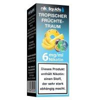 E-Liquid NIKOLIQUIDS Tropischer Früchte-Traum 6mg Nikotin