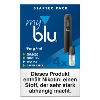 e-Zigarette myblu Starterpack Freebase 9mg Nikotin