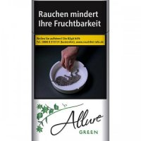 Einzelpackung Allure Superslims Green (Menthol) (1x40)