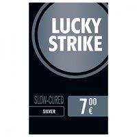 Einzelpackung Lucky Strike Silver (1x20)