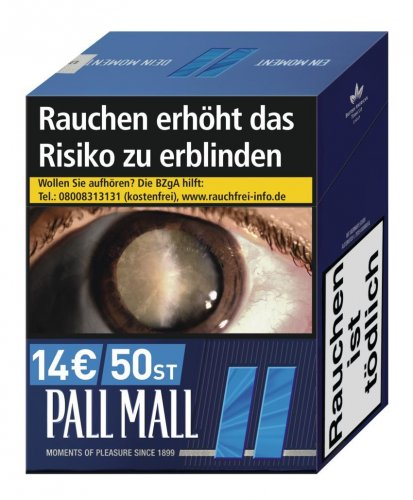 Einzelpackung Pall Mall Blau Jumbo (1x49)