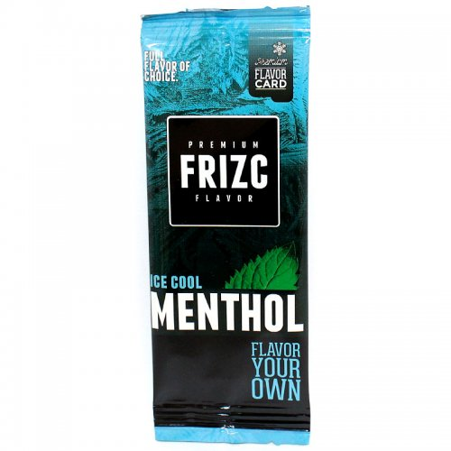 Frizc Ice Cool Menthol Flavor Card Aromakarte