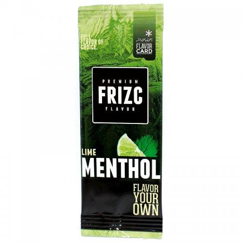 Frizc Lime Menthol Flavor Card Aromakarte