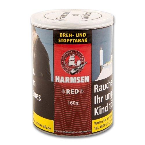 Harmsen Tabak Rot American Shag 150g Dose Zigarettentabak