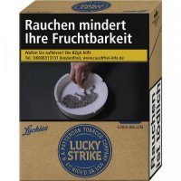 Einzelpackung Lucky Strike Authentic Blue L (1x21)