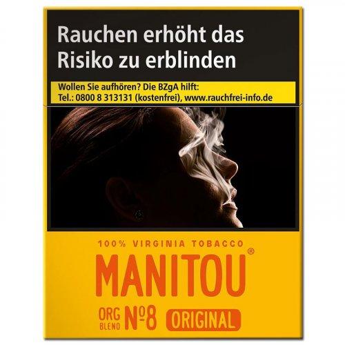 Manitou Zigaretten ohne Zusätze No.8 Gold 24er online kaufen