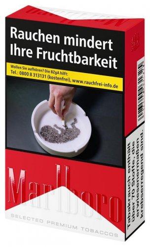 Einzelpackung Marlboro Red Filter Zigaretten (1x20)