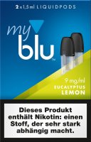 myblu Pods Eucalyptus Lemon 9 mg 2er Pack
