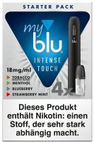 myblu Starter Set Intense Touch 18mg