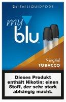 myblu Roasted Blend Tobacco Pods 9 mg