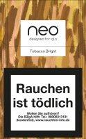 Einzelpackung neo Bright Tobacco Sticks für Glo 1 x 20 Stück