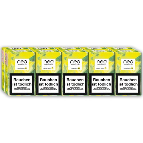 neo Yellow Switch Tobacco Sticks für Glo (10x20)