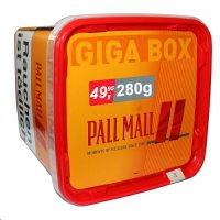 Pall Mall Allround Rot Giga Box 280g Dose Volumentabak