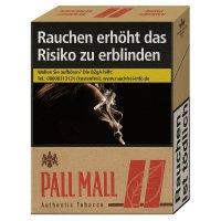 Pall Mall Authentic Red XL ohne Zusätze (8x22)