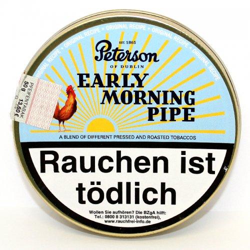 Peterson Early Morning Pipe Pfeifentabak 50g