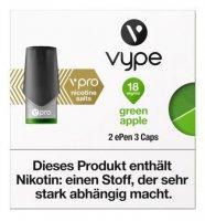 Vype ePen 3 Caps vPro green apple 18mg Nikotin