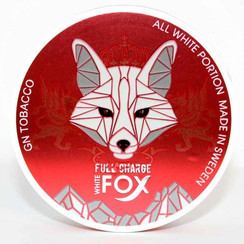 White Fox Red Chewing Bags Nicopads