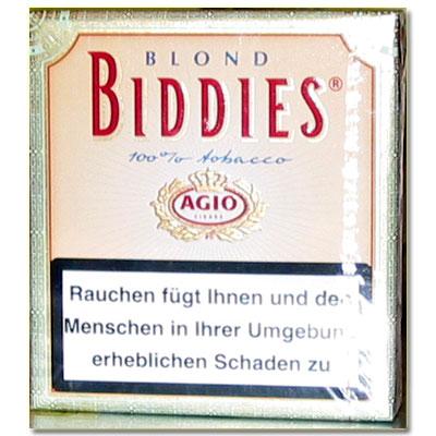 Agio Biddies Blond Zigarillos