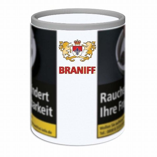 Braniff Tabak White 100g Dose (Artikel wird nicht mehr hergestellt)
