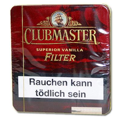 Clubmaster Superior Vanilla mit Filter Zigarillos