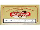 Handelsgold Sumatra No 151 Zigarillos