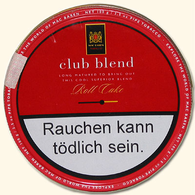 Mac Baren Club Blend 100g