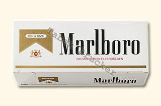 Marlboro Gold Zigarettenhülsen 200 St.
