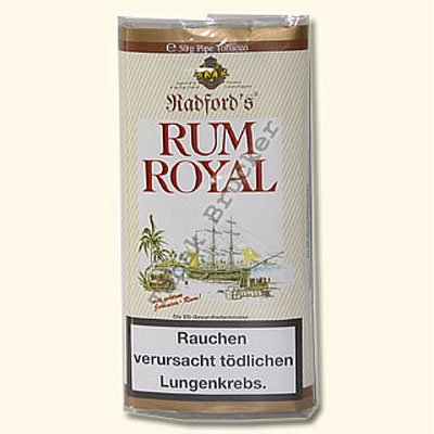 Radfords Pfeifentabak Rum Royal 50g Päckchen