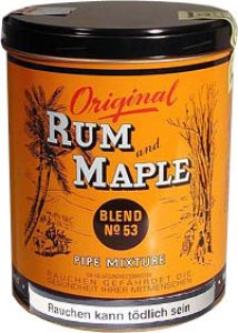 Rum and Maple 250g
