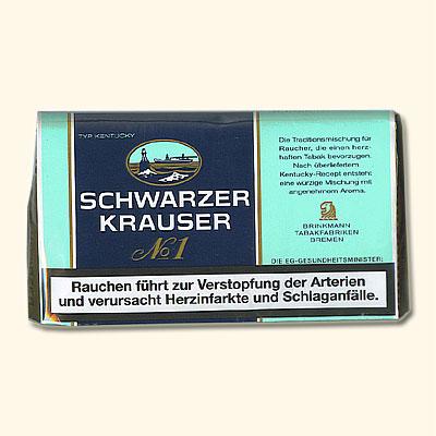 Schwarzer Krauser No 1 Tabak 38g